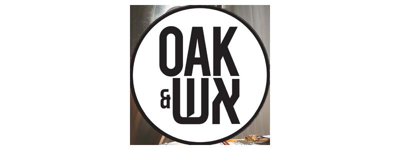 OAK&אש - לוגו